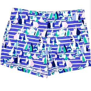 🆕️ Vineyard Vines Harbor Scene Print Foley Shorts